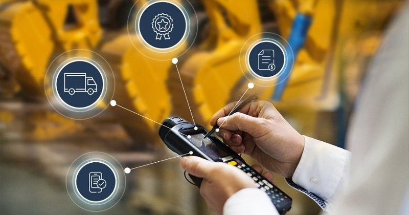 Mobile access for equipment rental logistics