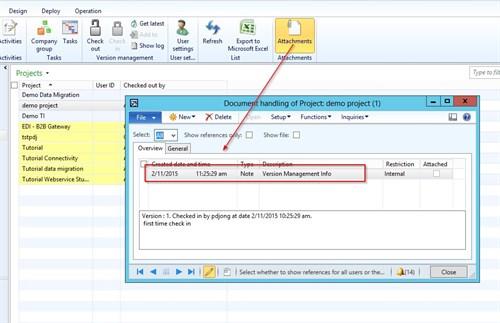 Dynamics AX Integration Project Version Management 2