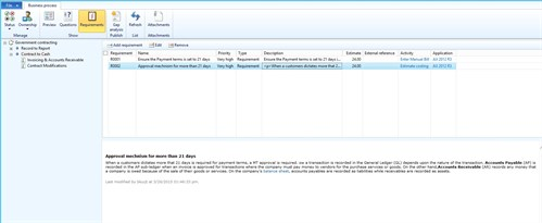 BPM for Dynamics AX Post Implementation Screenshot 3