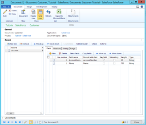 Salesforce and AX integration 2