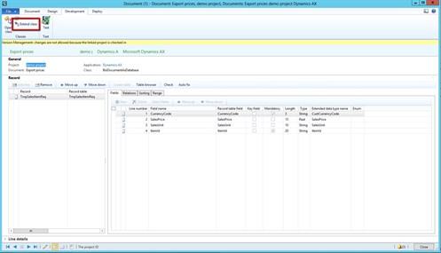 Simplify Dynamics AX Data Exports 4