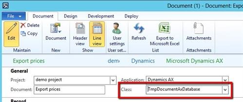 Simplify Dynamics AX Data Exports 8