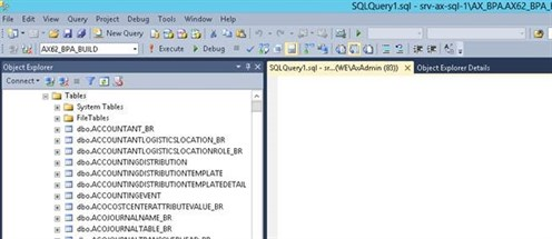AX Database Sync 2