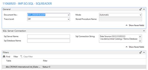 BIS NAV SQL Import 4