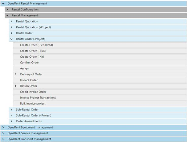 Microsoft Dynamics for equipment-driven rental