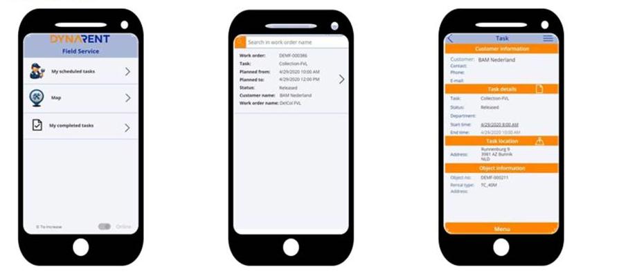 Rental Field Service App