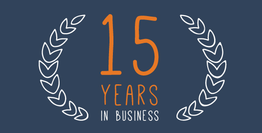 14 years in business