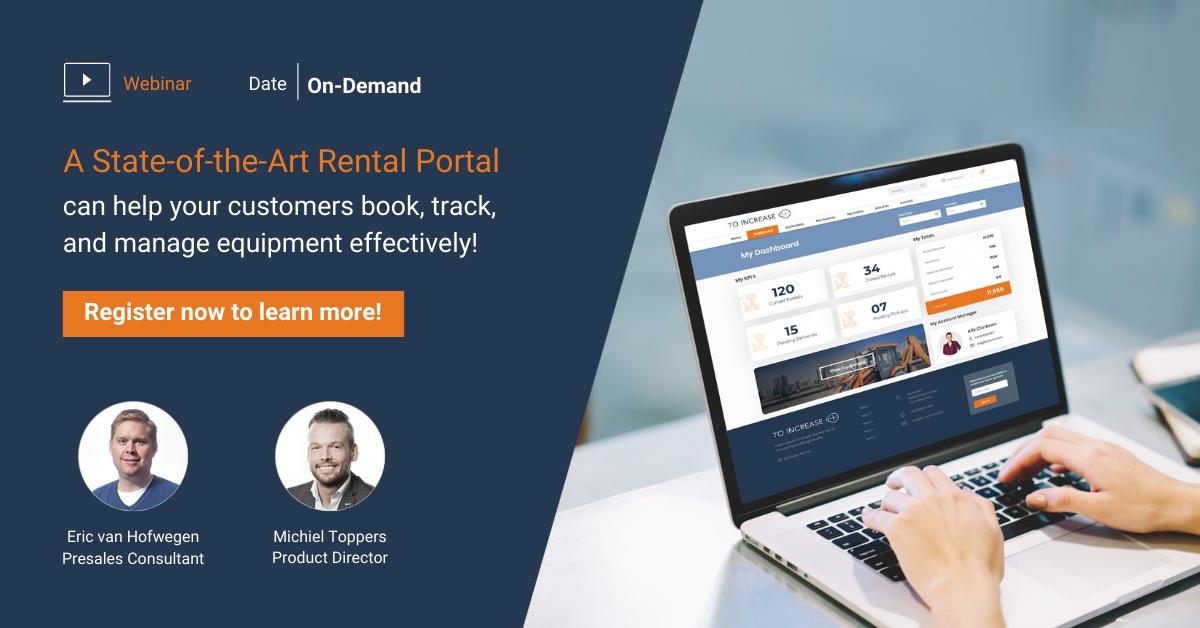 Webinar Customer portal