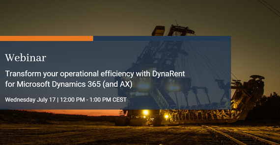 Webinar: transform your operational efficiency with DynaRent