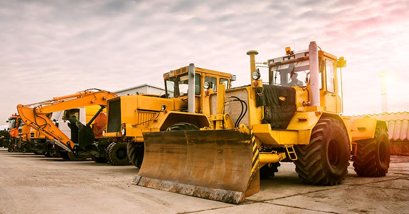 Equipment Rental Construction Site