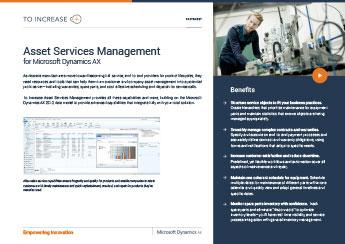 Asset Service Management