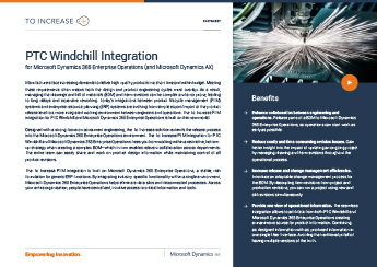 PTC Windchill Integration AX