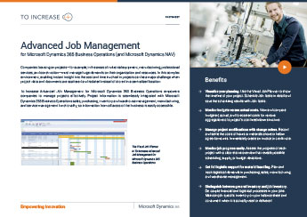Advanced Job Management