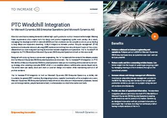 PTC Windchill PLM Integration
