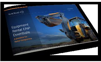 ERP Essentials for Equipment Rental
