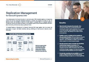 Replication Management