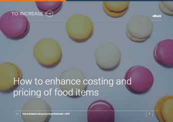 How to enhance costing and pricing of food items?