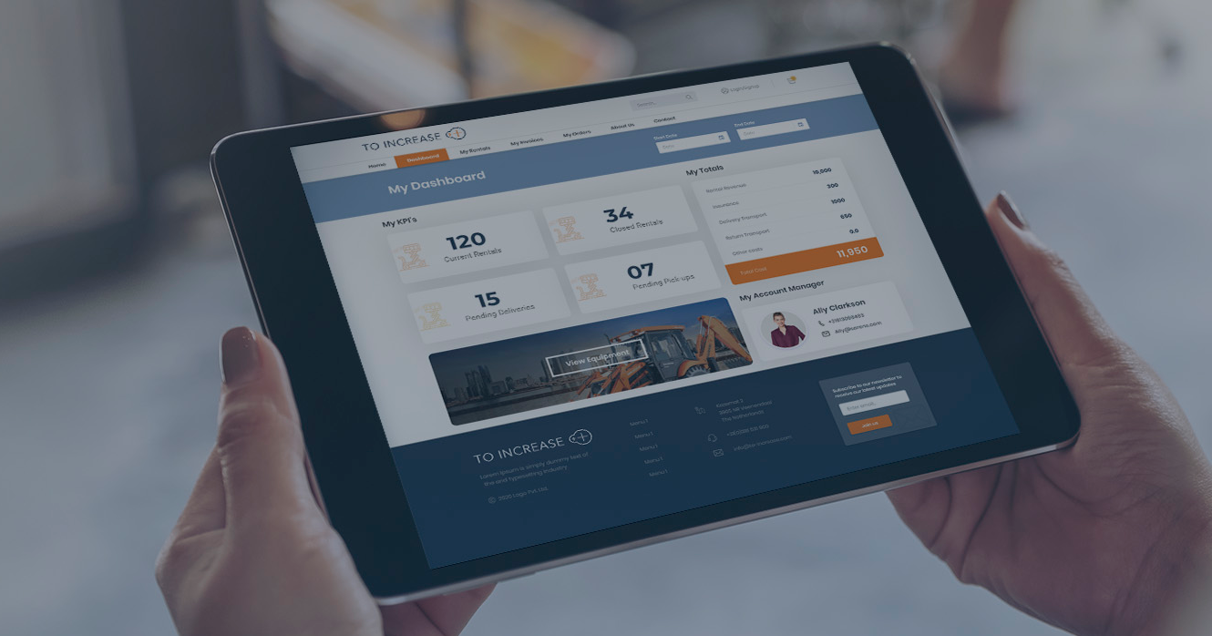 Why do Equipment Rental Companies Need a State-of-the-Art Customer Portal?