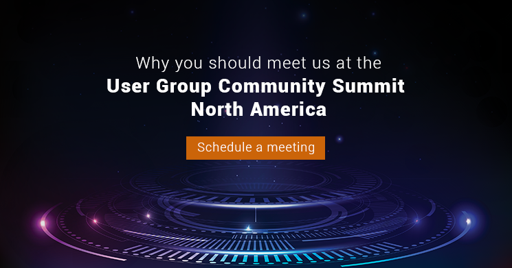 Why you should meet us at the User Group Summit North America, 2020